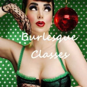ONLINE Burlesque Classes