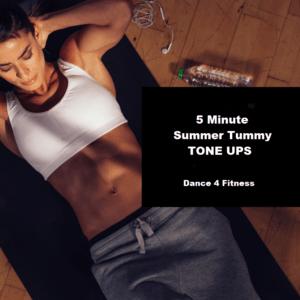FREE COPY – 5 Minute Summer Tummy Tone Ups